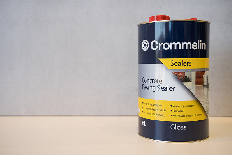Crommelin Concrete Paving Sealer