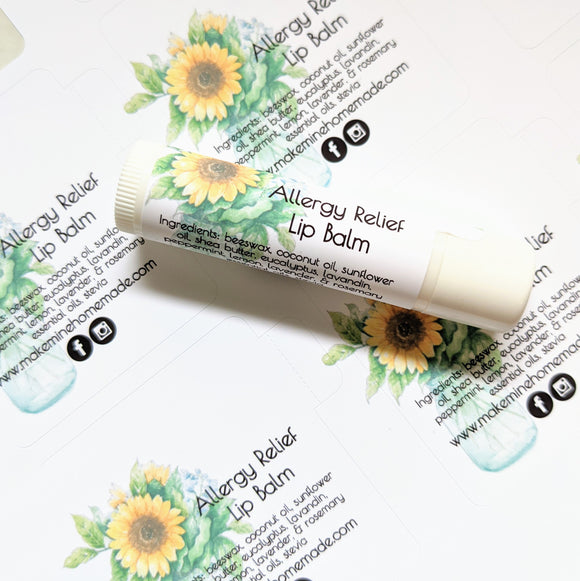 Allergy Relief Lip Balm