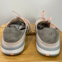 OLUKAI Women's Miki Li Athletic Shoes Pearl Blush/Pale Grey Size 8.5 Comfortable
