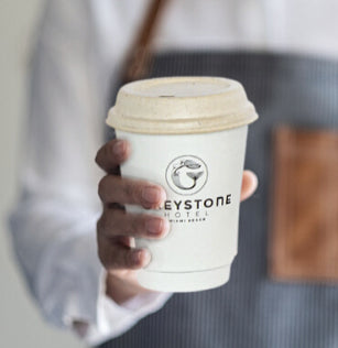 custom coffee cups get your restaurant brand in front of hundreds of people