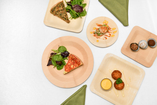 eco-friendly dinnerware is sturdy and stable