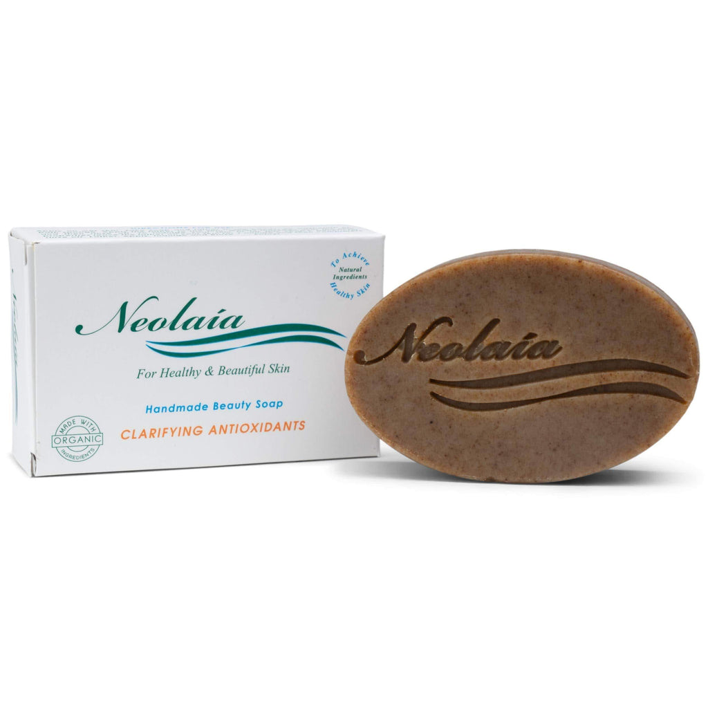 Organic Clarifying Antioxidants Soap For Enlarged Pores, Hyperpigmentation, Melasma and Scars