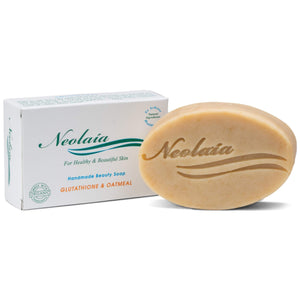 Glutathione and Oatmeal Soap - Best For Uneven Skin, Dark Spots, Acne, Hyperpigmentation and Melasma