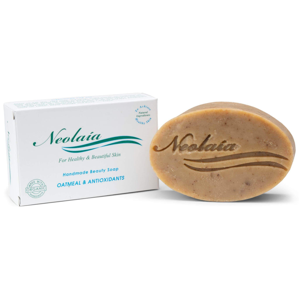 Oatmeal and Antioxidants Soap With Intense Antioxidants Benefits - Best For Sensitive, Mature, Dry and Acne Prone Skin