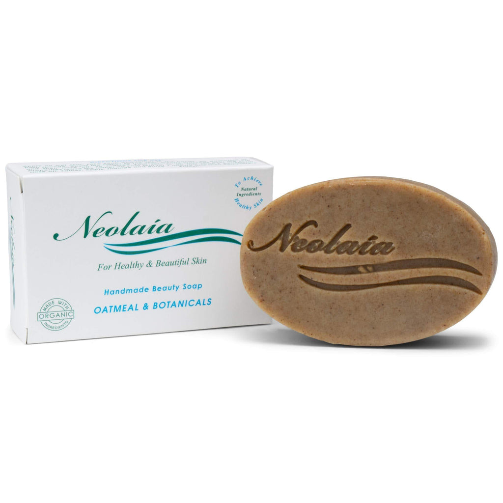 Oatmeal & Botanicals Soap - Best For Uneven And Dry Skin, Dark Spots, Sensitive And Mature Skin