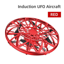 Load image into Gallery viewer, mini drone Anti-collision Hand UFO Helicopter UFO Ball Flying Aircraft small intelligent induction quadcopter Drones toys gift