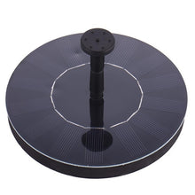 Load image into Gallery viewer, 2.4W Ground Solar Fountain Pump Waterproof LED Solar Panel With Submersible Pump For Bird Bath Garden Decoration Fountain