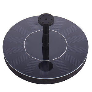 2.4W Ground Solar Fountain Pump Waterproof LED Solar Panel With Submersible Pump For Bird Bath Garden Decoration Fountain
