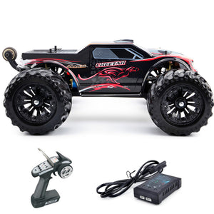 JLB Racing 11101 CHEETACH 1:10 Brushless RC Racing Monster Truck RTR 70-80km/h 120A Waterproof ESC Transmitter Car