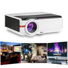 Load image into Gallery viewer, CAIWEI Digital LCD Projector Multimedia System Beamer For Home Theater Outdoor Movies Party Projection Support 1080P Video HDMI