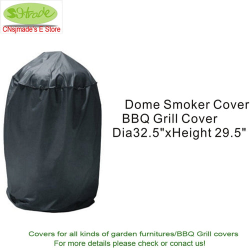 Free shipping Dome smoker cover, BBQ covers 32.5