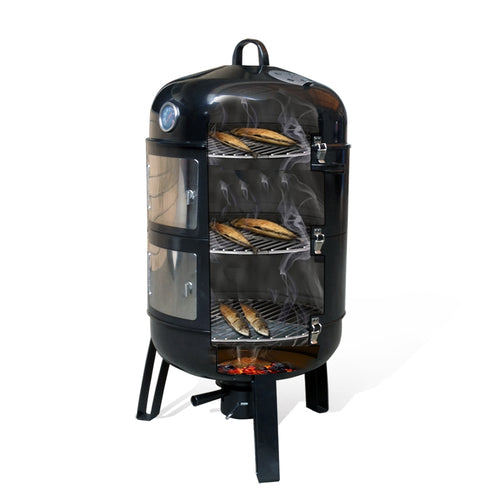 BBQ  smoker grill black color grill for sale