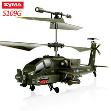 Load image into Gallery viewer, SYMA S102G S108G S109G S111G RC Helicopter 3CH Gyro RC Drones Fighter Professional Helicopter Remote Control Aircraft Baby Toys