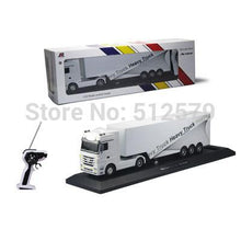 Load image into Gallery viewer, Remote Control Truck Kids Electric Toy Car Big Rc Container Truck Trailer Children RC Truck Model Toy Car With Remote Control