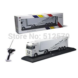 Remote Control Truck Kids Electric Toy Car Big Rc Container Truck Trailer Children RC Truck Model Toy Car With Remote Control