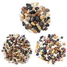 Load image into Gallery viewer, 500g River Rocks Outdoor Decorative Stones Pebbles Large Natural Cobblestone Colorful Goose Warm Garden Paving Garden Rain Stone