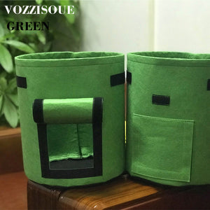 DIY Potato Grow Planter Cloth Planting Container Bag Vegetable Gardening Sac Pomme De Terre Thicken Garden Pot Planting Grow Bag