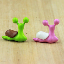 Load image into Gallery viewer, 5PCS Miniature Snail Figurine Decor Fairy Garden Dollhouse Ornament DIY home decoration accessories Tools Supplies Figurine