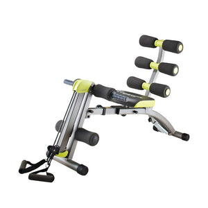 Wonder Core II : Multifunctional 12-in-1 Fitness Equipment | Sit-up Exerciser - Ergonomically Designed - Stretching Beyond 180° & 360° in Twisting