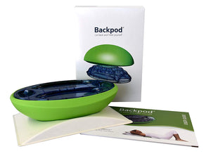 The Backpod - Premium Treatment for Neck, Upper Back and Headache Pain from Hunching over Smartphones and Computers. Great for Costochondritis, Thoracic Motion and Perfect Posture