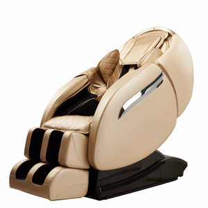RLS-810X(H) Luxury Massage Chair,4D Multifunctional Full Body Massager/Relax Chair, 3D Surround Sound - Air Massagers - Zero Gravity - Heat Massage in The Back,Beige