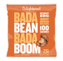Load image into Gallery viewer, Enlightened Bada Bean Bada Boom Plant-based Protein, Gluten Free, Vegan, Non-GMO, Soy Free, Roasted Broad Fava Bean Snacks, The Classic Box Variety Pack, 1.0 oz, 24Count