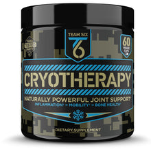Load image into Gallery viewer, T6 Cryotherapy - Natural Joint Support Supplement | Arthritis Pain Relief, Anti Inflammatory Cartilage Repair & Bone Strength | Type 2 Collagen Pills + Curcumin with Bioperine + Boswellia Extract,30Sv