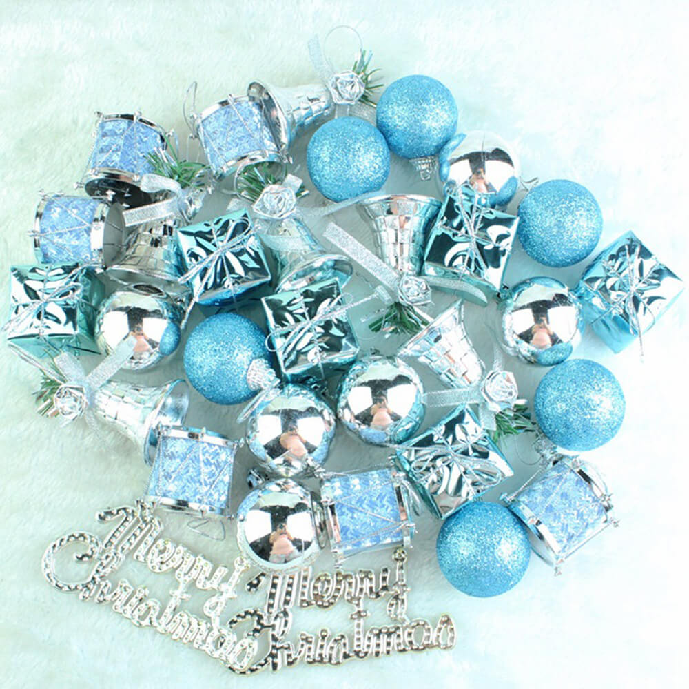 Handcrafted Christmas Ornaments Mix Set
