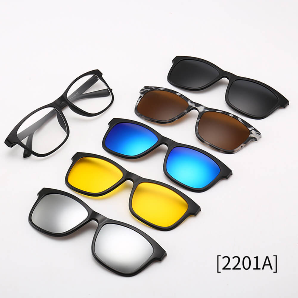 5 in 1 Magnetic Lens Swappable Sunglasses 50% OffFree ShippingAttitude