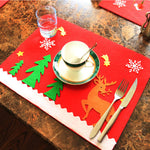 Christmas Placemats Set
