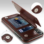 4 in 1 Luxury Leather Case for iPhone 50% Off-Free Ship-Attitude Today