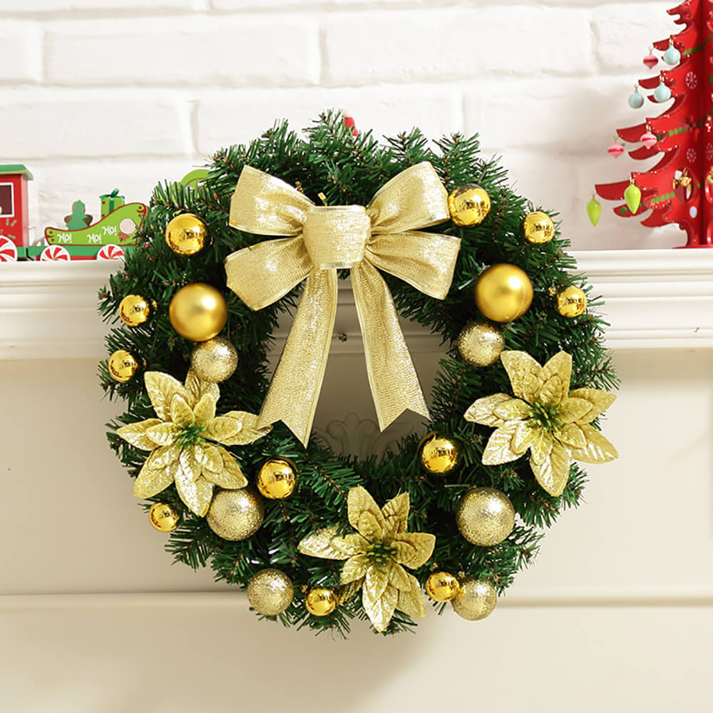 Christmas Cheer Window Wreath