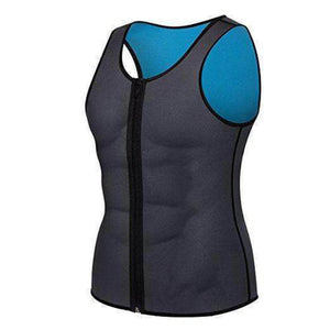 MEN'S ZIPPER NEOPRENE SAUNA VEST