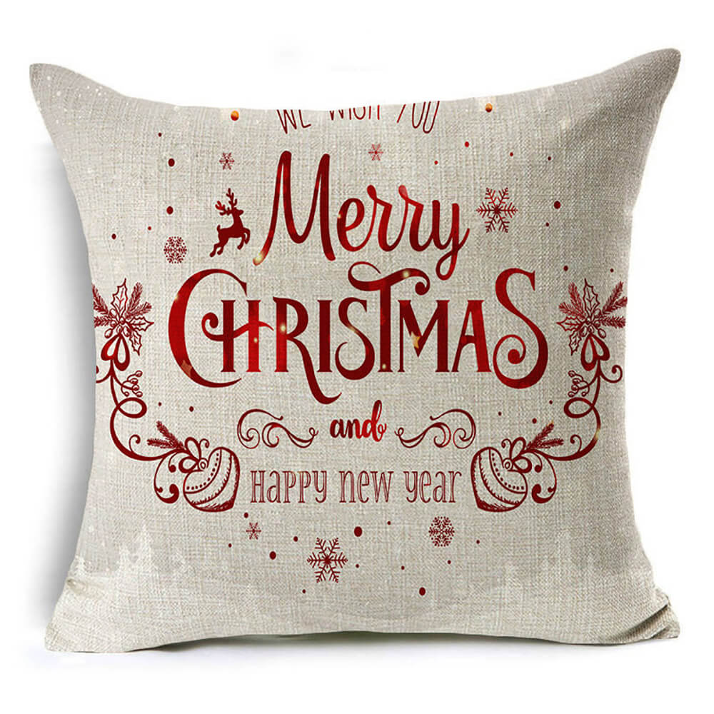 Christmas Throw Pillow Cover