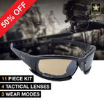 POLARIZED X7 TACTICAL SHATTERPROOF USA MILITARY GOGGLES Attitude Today