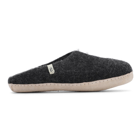 slipper black size 41