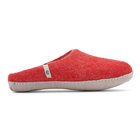 slipper rusty red size 37