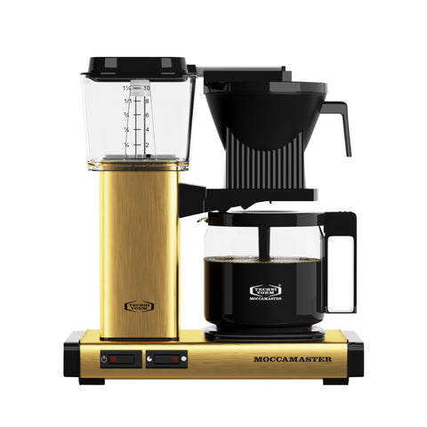 moccamaster brushed brass