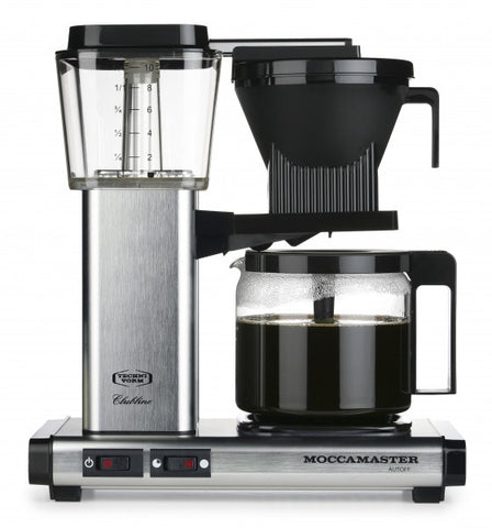 moccamaster brushed steel