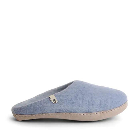 slipper light blue size 46