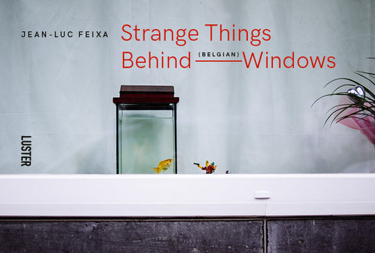 Luster fotoboek Strange Things Behind Belgian Windows