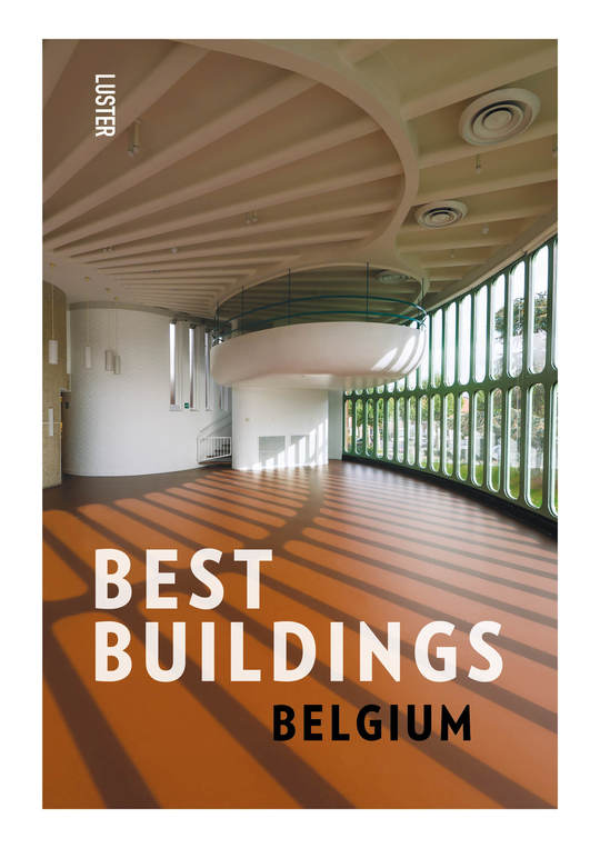 luster boek best buildings belgium