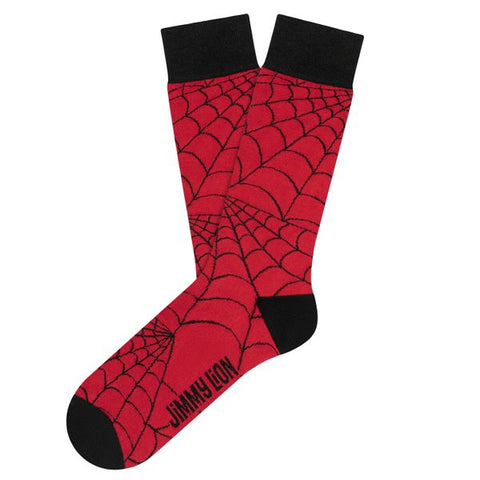 jimmy lion spiderweb red
