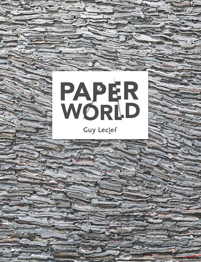Lannoo boek Paper World Guy Declef