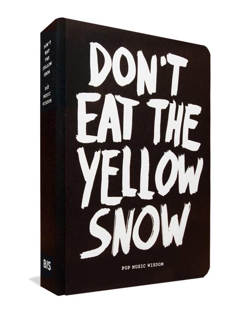Philimonius boek BisPublishers don't eat the yellow snow