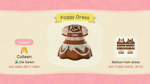 Steampunk Animal Crossing Dress