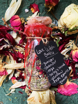 Love Witch Bottle