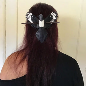 Magpie Hair Slide