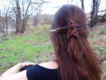 Quartz Crystal Hair Stick