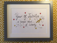 A Trumpet Blast of Jubilee (Original) Framed